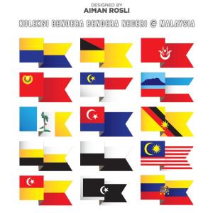 Bendera Negeri Negeri Malaysia Downloads Vectorise Forum